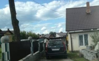 Нет подъезда к участку с жилым домом