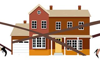 Как произвести ремонт в частном доме на двух хозяев?