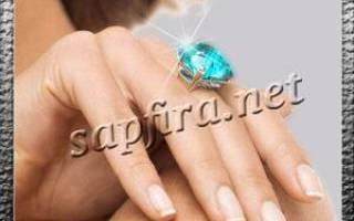 Приобрели кольцо с камнями