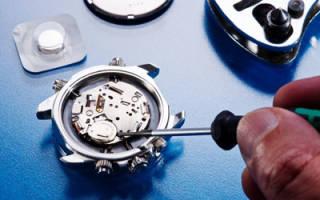 Сервисное обслуживание повреждений наручных часов
