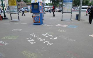 На сколько законна реклама на тротуаре?