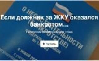 Отключение ЖКХ при неоплате и процедуре банкротства