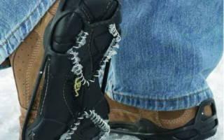 Зимние ботинки промокают