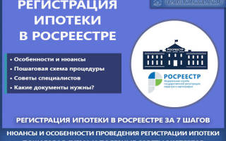 Перечень документов для регистрации ипотеки в росреестре