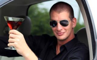 Пьяный водитель за рулём корпоративного автомобиля