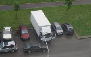 Разрешена ли стоянка большегрузных авто в частном секторе