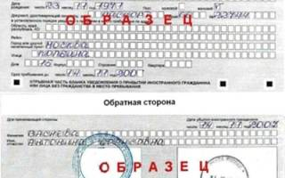 Временная регистрация граждан СНГ