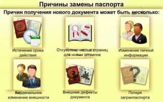 Нужно менять паспорт?