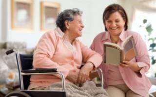 Социальный работник для 70 летней бабушки с инвалидностью