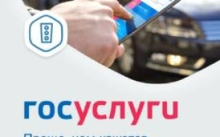 Прекращение регистрации транспортного средства через госуслуги не работает