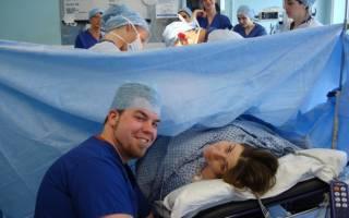 Компенсируется ли с работы мужа кесарево сечение при родах?