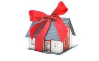 Как передать в дар долю собственности квартиры близкому родственнику?