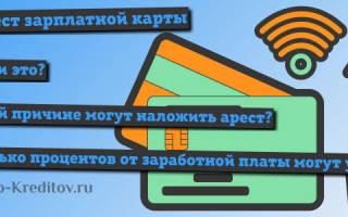 Правомочность блокировки счета и списания средств с зарплатной карты