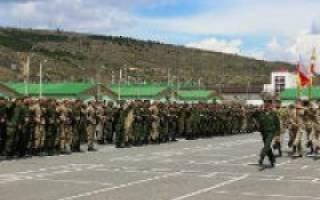 Джава южная осетия военная база