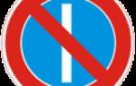 Знак остановка запрещена четные и нечетные числа