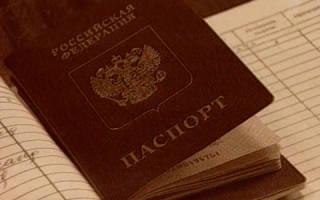 Действия паспортно визовой службы и РУВД
